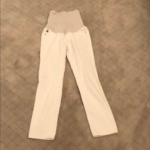AG White Maternity Jeans -  Size 28